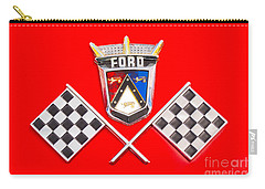 Ford Emblem Carry-all Pouch by Jerry Fornarotto