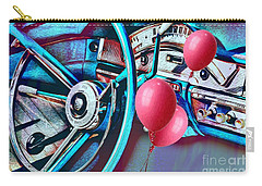 Ford Fairlane 500 Dashboard- Warhol-esque Carry-all Pouch by Liane Wright