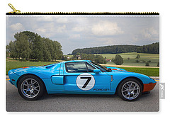 Ford Gt Carry-all Pouch by Debra and Dave Vanderlaan