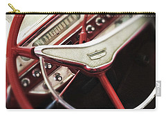 Carry-all Pouch featuring the photograph Ford Sunliner by Bradley R Youngberg