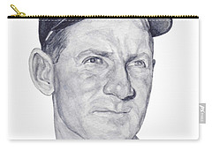 Carry-all Pouch featuring the painting Ford by Tamir Barkan