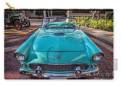 Ford Thunderbird  Carry-all Pouch by Adrian Evans