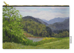 Ford's Pond In Spring Carry-all Pouch
