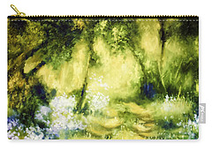 Forest Bluebells Carry-all Pouch