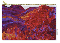 Carry-all Pouch featuring the painting Forest Fantasy By Jrr by First Star Art