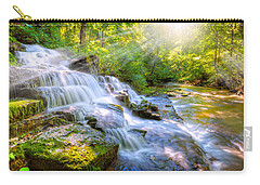 Forest Stream And Waterfall Carry-all Pouch