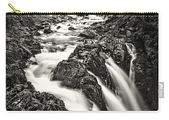 Carry-all Pouch featuring the photograph Forest Water Flow by Ken Stanback