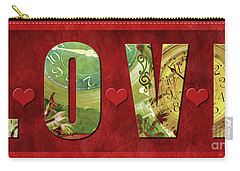 Forever Love #2 Carry-all Pouch by Claudia Ellis