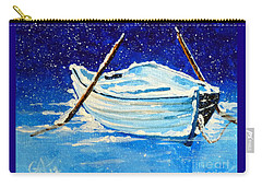 Forgotten Rowboat Carry-all Pouch by Jackie Carpenter