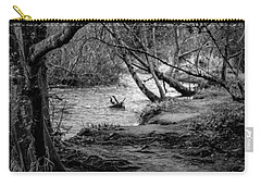 Forgotten Path Carry-all Pouch by Charlie Duncan