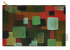 Carry-all Pouch featuring the painting Forms by Barbara St Jean