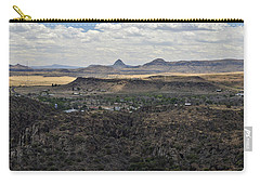 Fort Davis From Davis Mountains State Park Carry-all Pouch