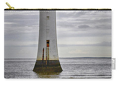 Fort Perch Lighthouse Carry-all Pouch by Spikey Mouse Photography