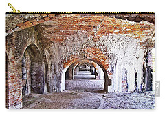 Fort Pickens Archway In Florida Carry-all Pouch