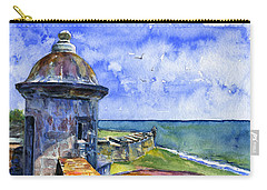Fort San Juan Puerto Rico Carry-all Pouch by John D Benson