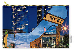 Fort Worth Texas Carry-all Pouch by Marvin Blaine