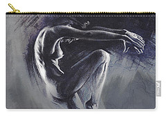 Fount II. Textured B. Carry-all Pouch by Paul Davenport