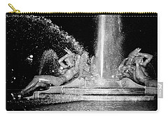Fountain At Logan Square Carry-all Pouch by Deborah  Crew-Johnson