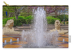 Fountain In Coolidge Park Carry-all Pouch