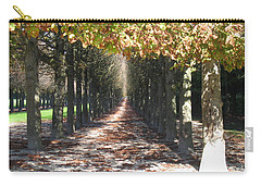 Fountainebleau - Under The Trees Carry-all Pouch by HEVi FineArt