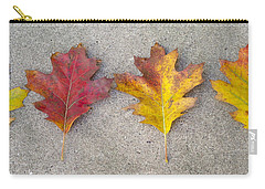 Four Autumn Leaves Carry-all Pouch