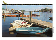 Carry-all Pouch featuring the photograph Four Boats  by Cynthia Guinn