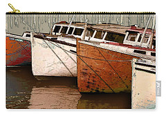 Four Boats In Bronze Carry-all Pouch