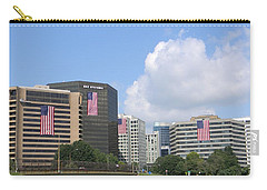 Four Flags Carry-all Pouch by Jean Goodwin Brooks