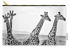 Four Giraffes Carry-all Pouch