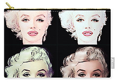 Four Marilyn Monroe 2 Carry-all Pouch
