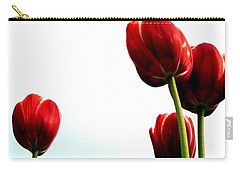 Four Red Tulips Carry-all Pouch