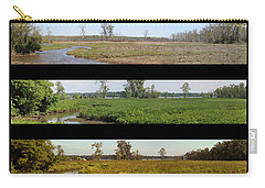 Four Seasons Along The Potomac Carry-all Pouch