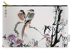 Carry-all Pouch featuring the photograph Four Seasons In Harmony by Yufeng Wang