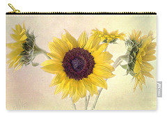 Hello Sunshine Carry-all Pouch by Louise Kumpf