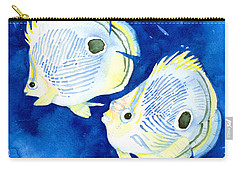 Foureye Butterflyfish Carry-all Pouch
