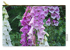 Foxglove After The Rains Carry-all Pouch