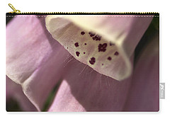 Carry-all Pouch featuring the photograph Foxglove by Joy Watson
