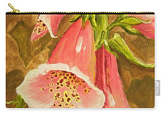 Foxy Foxglove Of Williamsburg Carry-all Pouch