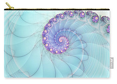 Fractal 17 Carry-all Pouch by Lena Auxier