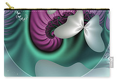 Fractal A Dream Of Butterflies Carry-all Pouch