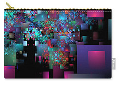 Fractal Confetti Carry-all Pouch