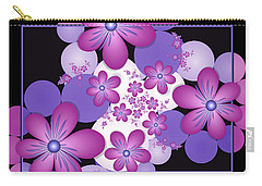 Fractal Flowers Modern Art Carry-all Pouch