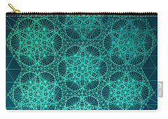 Fractal Interference Carry-all Pouch