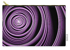 Fractal Purple Swirl Carry-all Pouch
