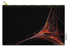 Carry-all Pouch featuring the photograph Fractal Red by Henrik Lehnerer