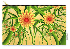 Fractal Summer Pleasures Carry-all Pouch by Gabiw Art