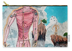 Fragiles Colossus Carry-all Pouch by Lazaro Hurtado