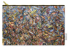 Carry-all Pouch featuring the painting Fragmented Fall by James W Johnson