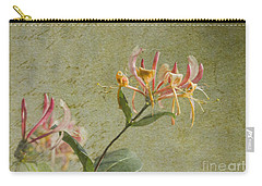 Carry-all Pouch featuring the photograph Fragrance by Liz  Alderdice
