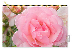 Fragrant Cloud Rose Carry-all Pouch by Jane McIlroy